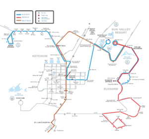 Bus Routes Schedules Overview Mountain Rides