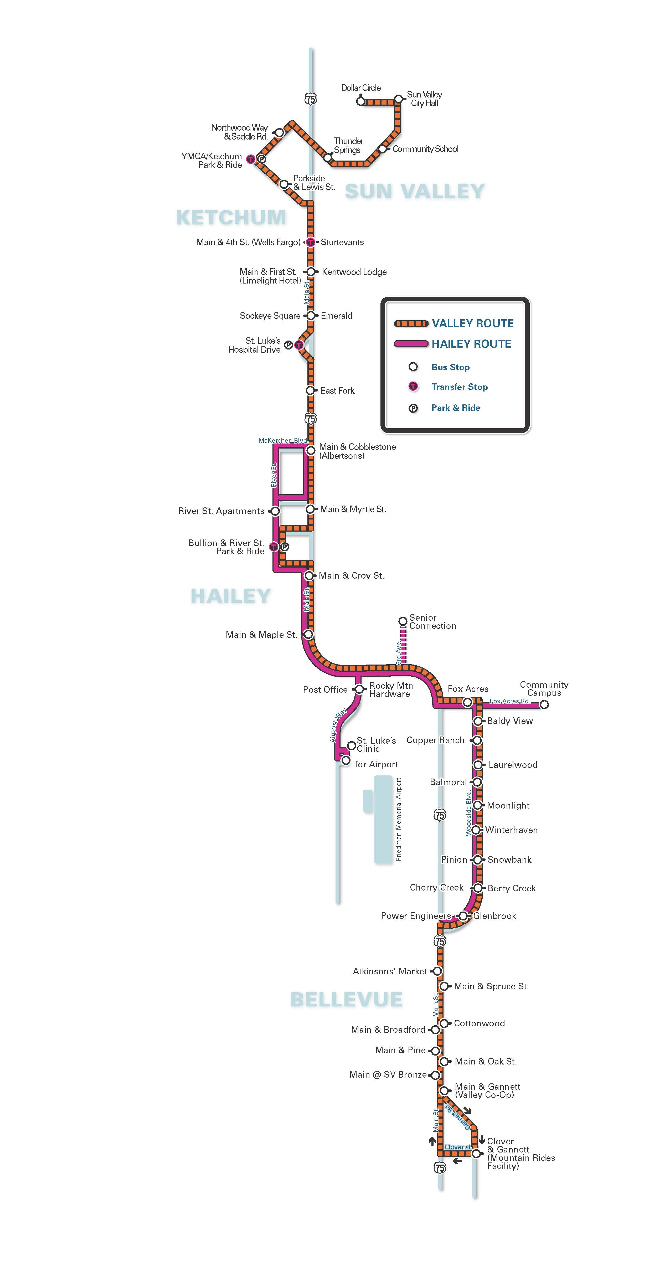 Bus Routes & Schedules Overview - Mountain Rides on school bus route map, light rail route map, people mover route map, st. charles streetcar route map, septa bus route map, monorail route map, honolulu bus route map,